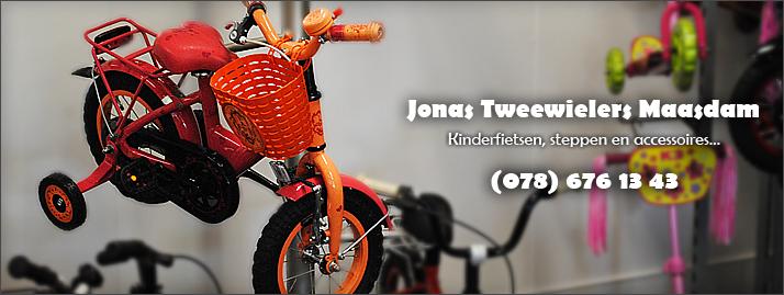 Jonas Tweewielers, kinderfietsen en accessoires
