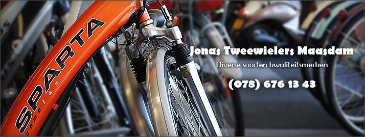 Jonas Tweewielers, kwaliteitsmerken voor een goede prijs!