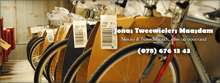 Jonas Tweewielers, nieuw en tweedehands, alles op voorraad!