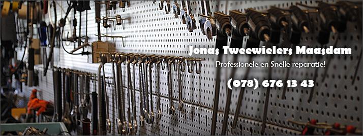 Jonas Tweewielers, professionele en snelle reparatie
